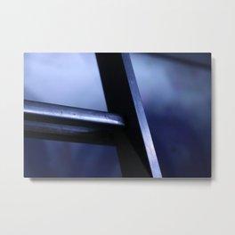 metal ladder Metal Print