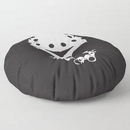 KillKillKillKillHaHaHa Floor Pillow