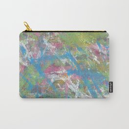 Color and Movement Abstract Art Carry-All Pouch