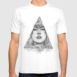 Triangle Portrait T-shirt