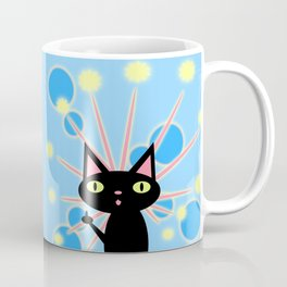 Starburst Kittykami Coffee Mug