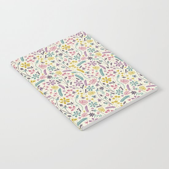 Retro Blooms (Candy) Notebook