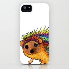 Miss Harriet Hedgehog iPhone Case