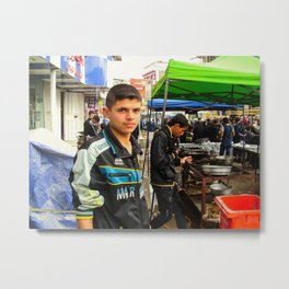 iraqi man Metal Print