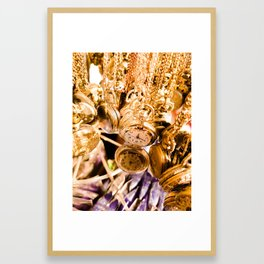 Time. Framed Art Print