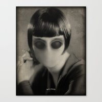 chic Canvas Prints featuring Chic by Billy Ludwig