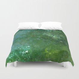 Emeralds Duvet Cover