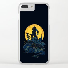 the king of Darkness Clear iPhone Case