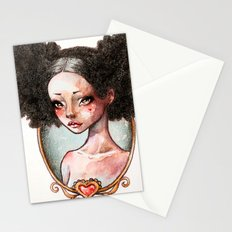 Sweet Ebony Stationery Cards