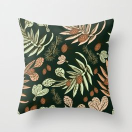 Christmas pattern. Throw Pillow