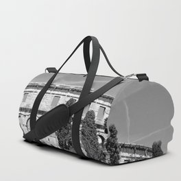 arena amphitheatre pula croatia ancient black white Duffle Bag