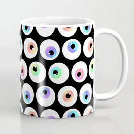 Lovely Sparkly Rainbow Eyeballs Coffee Mug