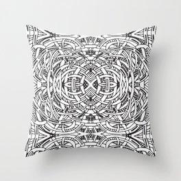 Endless Swirl Throw Pillow