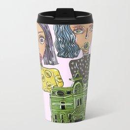 Two Homies and a Home Metal Travel Mug