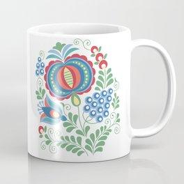 Moravian Folk Design Grapes Coffee Mug