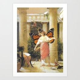 Birdfeeder Art Print