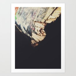 Light & Shadows || Old & Broken Art Print
