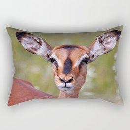 The Impala - Africa wildlife Rectangular Pillow