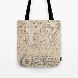 Book of Nightmares, Hungry Mouths Tote Bag