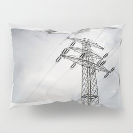 Electric power transmission Pillow Sham