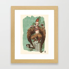 01 - Harpy Framed Art Print