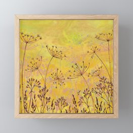 Last Haze of Summer Framed Mini Art Print