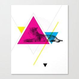 HYPSTER TYGER Canvas Print
