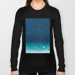 Virgo zodiac constellation Long Sleeve T-shirt