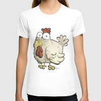 chicken T-shirts featuring Chicken by Ky Betts