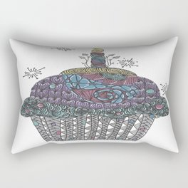 Yummy Cupcake Rectangular Pillow