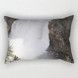 Grand Canyon Of The Yellowstone Lower Falls Rectangular Pillow