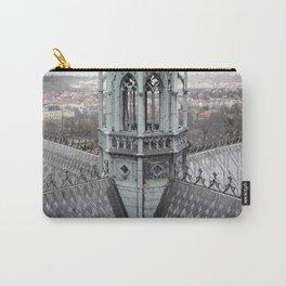 Prague Castle Roof Detail Carry-All Pouch
