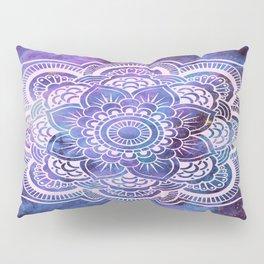 Galaxy Mandala Purple Lavender Blue Pillow Sham