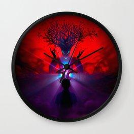 Magnificent Fantasy Forest Spirit Little Boy Mystic Cube Ultra HD Wall Clock