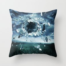 And the storm broke Throw Pillow