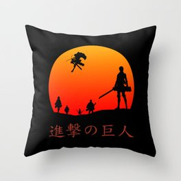 Scout Regiment Throw Pillow