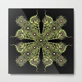 Serpentine Mandala II Metal Print