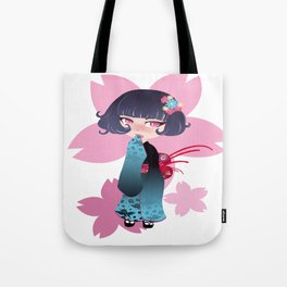 Hina Fleur Tote Bag
