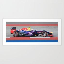 Formula 1 Art Print