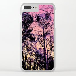 Forest (Sunrise) Clear iPhone Case
