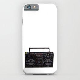 Lasonic Boombox radio iPhone Case