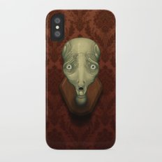 Shocked Alien iPhone X Slim Case