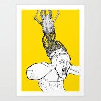 VM - Uploaded Art Print