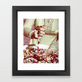 Getting Through Framed Art Print