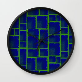 Vibrant Tetris Wall Clock