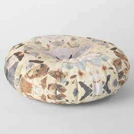 Terrazzo Rorschach Testing Floor Pillow