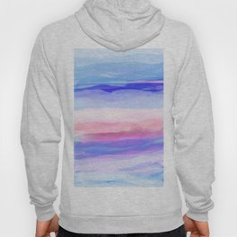 New World Horizon in Shades of Blue, Lilac and Pink Hoody