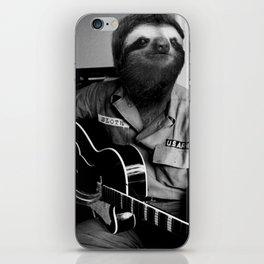 Rockstar Sloth #3 iPhone Skin