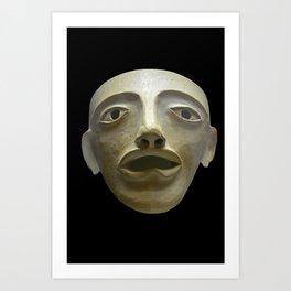 Ancient Greek Mask Art Print