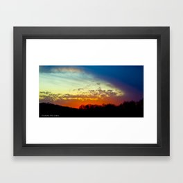 Moving In Framed Art Print